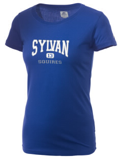 Sylvan Middle School Squires  Russell Women's Campus T-Shirt