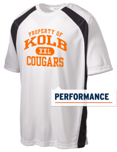 Kolb Middle School Cougars Men's Dry Zone Colorblock T-Shirt