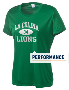 La Colina Junior High School Lions Women's Competitor Performance T-Shirt