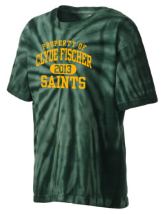 Clyde Fischer Middle School Saints Kid's Tie-Dye T-Shirt
