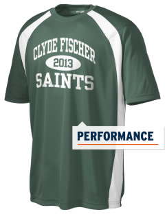 Clyde Fischer Middle School Saints Men's Dry Zone Colorblock T-Shirt