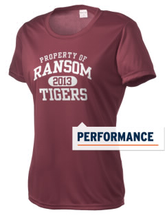 Ransom Middle School Tigers Women's Competitor Performance T-Shirt