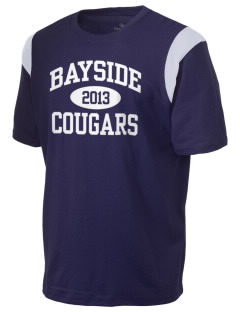 Bayside School Cougars Holloway Men's Rush T-Shirt