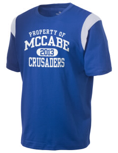 McCabe Elementary School Crusaders Holloway Men's Rush T-Shirt