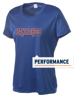 Kankakee Junior High School Warriors Women's Competitor Performance T-Shirt