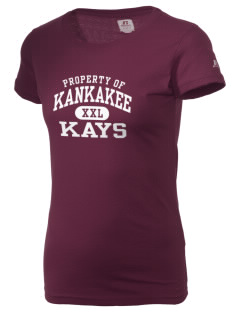 Kankakee Junior High School Warriors  Russell Women's Campus T-Shirt