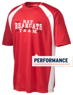 Bryan Station Traditional Middle School Bearcats Men's Dry Zone Colorblock T-Shirt