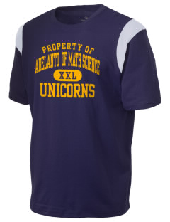 Adelanto School Academy Of Math Science Unicorns Holloway Men's Rush T-Shirt