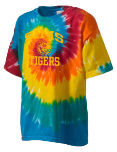 Sims Junior High School Tigers Kid's Tie-Dye T-Shirt