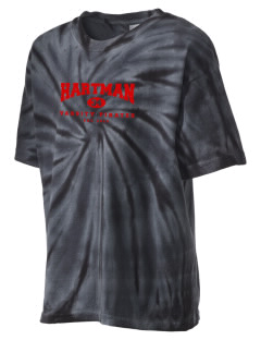 Hartman Middle School Pirates Kid's Tie-Dye T-Shirt