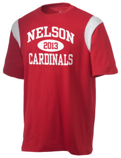 Nelson Elementary School Cardinals Holloway Men's Rush T-Shirt