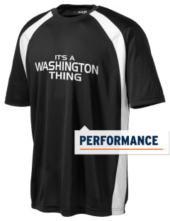 Washington Middle School Huskies Men's Dry Zone Colorblock T-Shirt