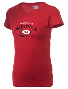 Marysville Middle School Wildcats  Russell Women's Campus T-Shirt