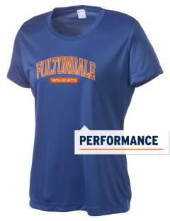 Fultondale High School Wildcats Women's Competitor Performance T-Shirt