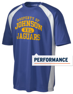 Johnson High School Jaguars Men's Dry Zone Colorblock T-Shirt