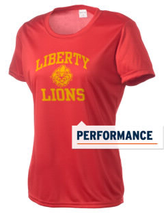 Liberty High School Lions Women's Competitor Performance T-Shirt
