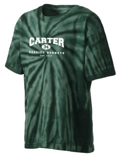 Carter High School Hornets Kid's Tie-Dye T-Shirt