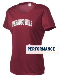 Verdugo Hills High School Dons Women's Competitor Performance T-Shirt
