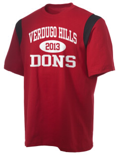 Verdugo Hills High School Dons Holloway Men's Rush T-Shirt