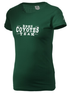 Buena Park High School Coyotes  Russell Women's Campus T-Shirt