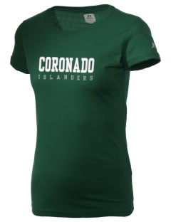 Coronado High School Islanders  Russell Women's Campus T-Shirt