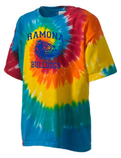 Ramona High School Bulldogs Kid's Tie-Dye T-Shirt