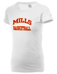 Mills High School Vikings  Russell Women's Campus T-Shirt