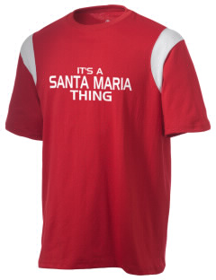 Santa Maria High School Saints Holloway Men's Rush T-Shirt
