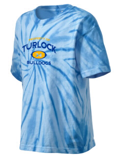Turlock High School Bulldogs Kid's Tie-Dye T-Shirt