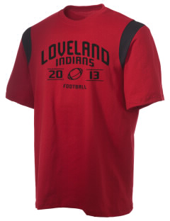 Loveland High School Indians Holloway Men's Rush T-Shirt