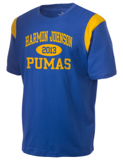 Harmon Johnson Elementary School Pumas Holloway Men's Rush T-Shirt