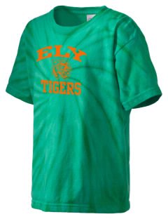 Ely High School Tigers Kid's Tie-Dye T-Shirt