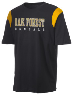 Oak Forest High School Bengals Holloway Men's Rush T-Shirt