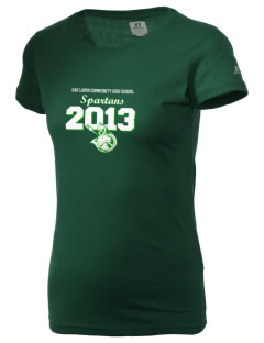 Oak Lawn Community High School Spartans  Russell Women's Campus T-Shirt