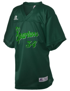 Oak Lawn Community High School Spartans Russell Kid's Replica Football Jersey