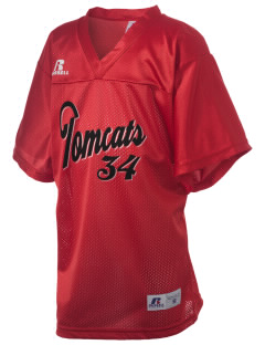 East Aurora High School Tomcats Russell Kid's Replica Football Jersey