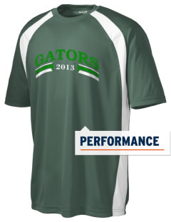 Crystal Lake South High School Gators Men's Dry Zone Colorblock T-Shirt