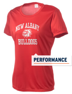 New Albany High School Bulldogs Women's Competitor Performance T-Shirt