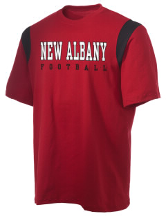 New Albany High School Bulldogs Holloway Men's Rush T-Shirt