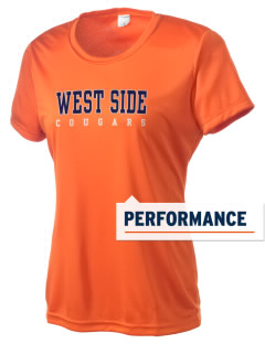 West Side High School Cougars Women's Competitor Performance T-Shirt