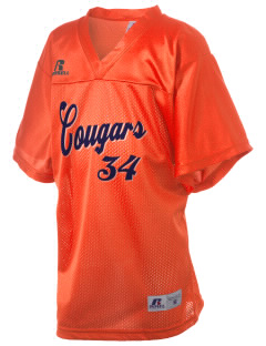 West Side High School Cougars Russell Kid's Replica Football Jersey