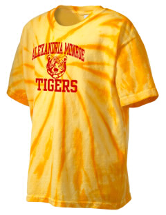 Alexandria Monroe High School Tigers Kid's Tie-Dye T-Shirt