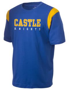 Castle High School Knights Holloway Men's Rush T-Shirt