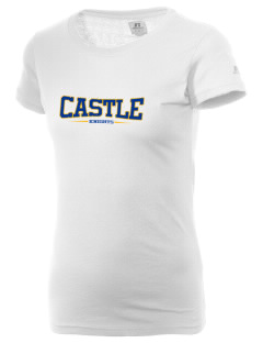 Castle High School Knights  Russell Women's Campus T-Shirt