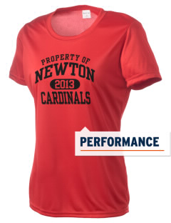 Newton Senior High School Cardinals Women's Competitor Performance T-Shirt