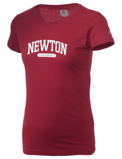 Newton Senior High School Cardinals  Russell Women's Campus T-Shirt