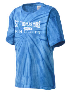 Saint Thomas More School Knights Kid's Tie-Dye T-Shirt