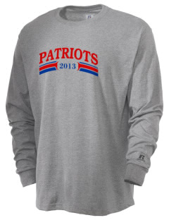 North Cumberland Elementary School Patriots  Russell Men's Long Sleeve T-Shirt