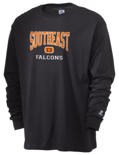 Southeast Guilford High School Falcons  Russell Men's Long Sleeve T-Shirt