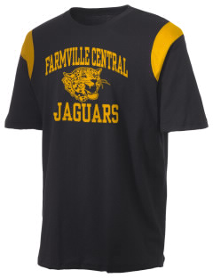 Farmville Central High School Jaguars Holloway Men's Rush T-Shirt